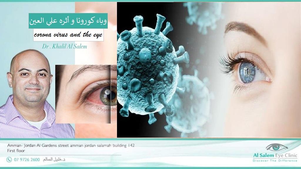 تطورات وباء كورونا علي العين. الآثار الناتجة عن لقاح كورونا (خاصة لقاح فيزر) الذي قد يسبب رفض القرنية. مرض العفن الأسود و بفيروس كورونا